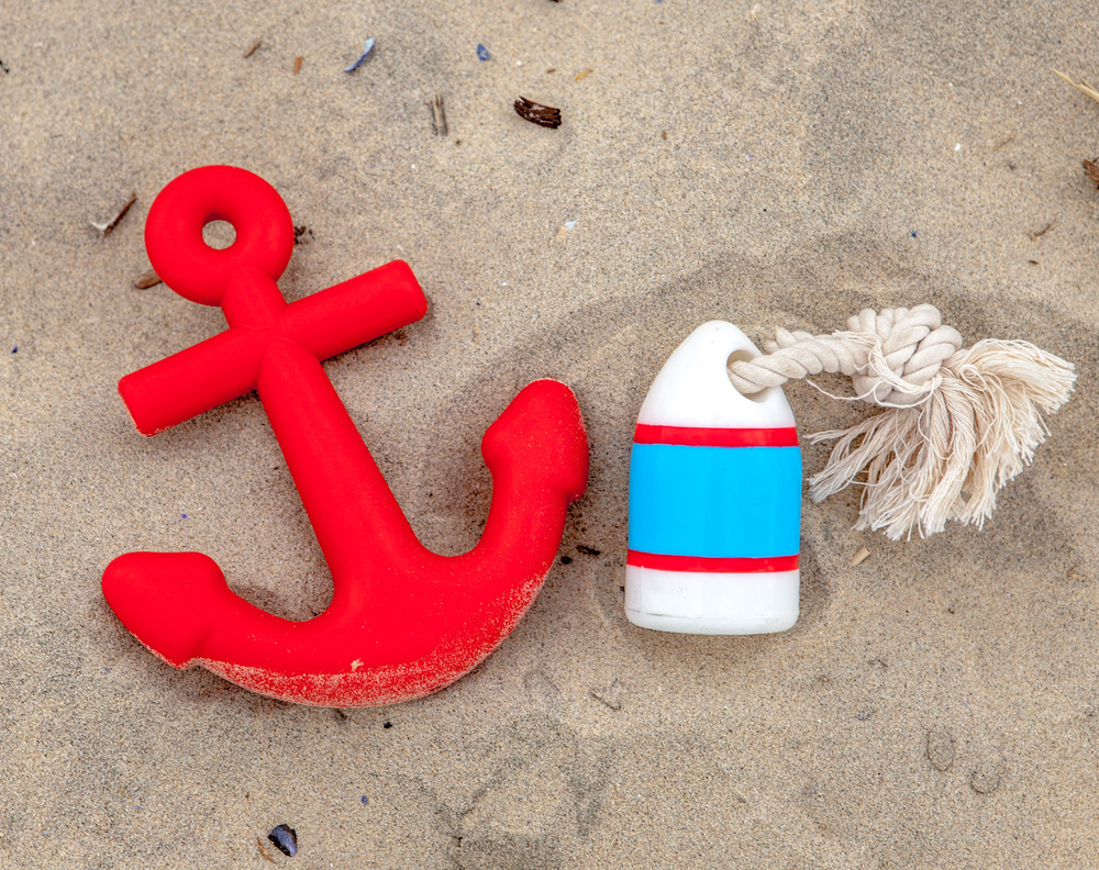 WAGGO | Anchors Away Dog Toy + Floats My Boat Buoy Toy