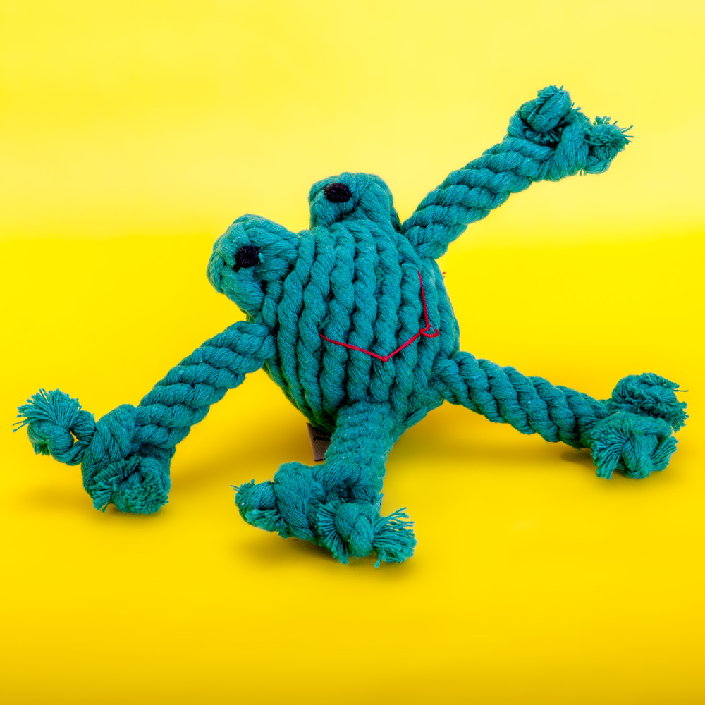 JAX & BONES | Flip the Frog Rope Toy