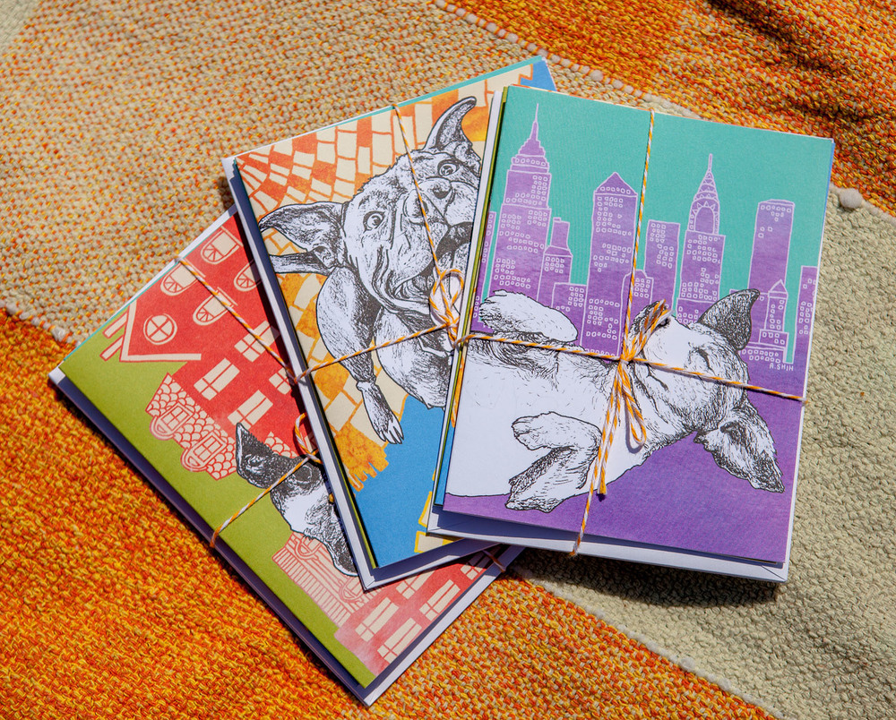 FOSTER DOGS NYC | Greeting Cards (Set of 3)