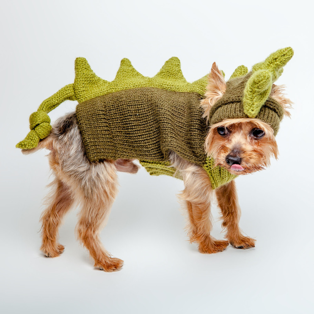 DOG & CO. | Dino Dog Sweater - Chloe Kardoggian