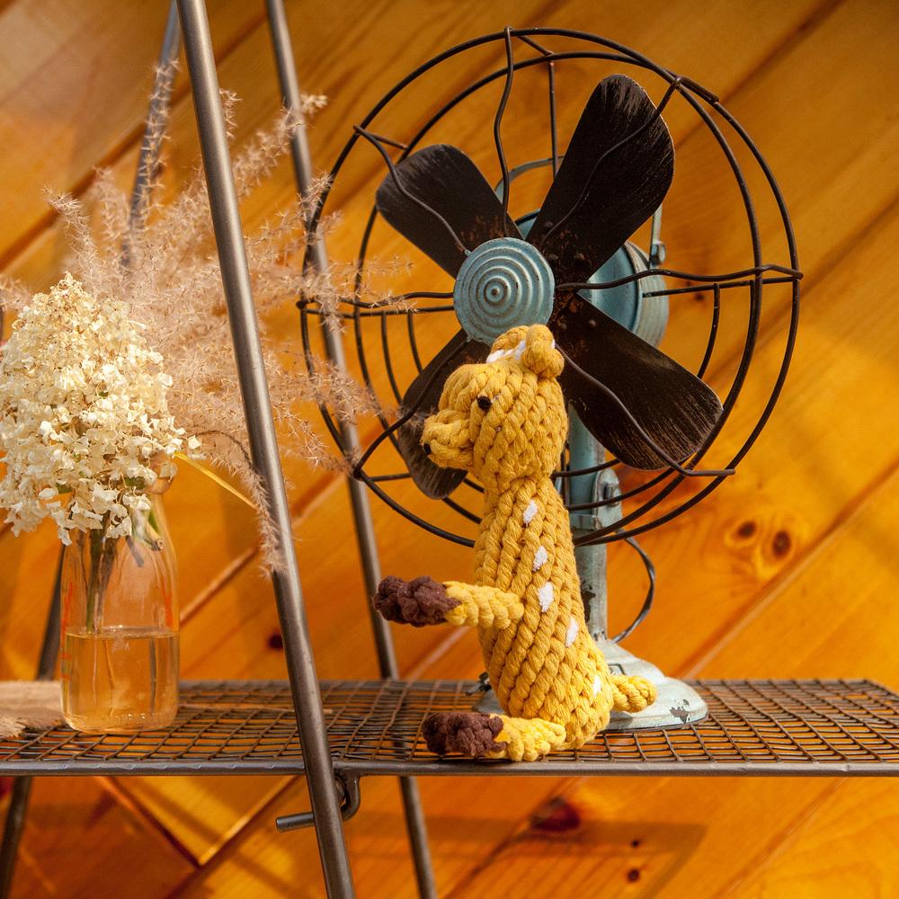 JAX and BONES | Daphne the Deer Rope Toy