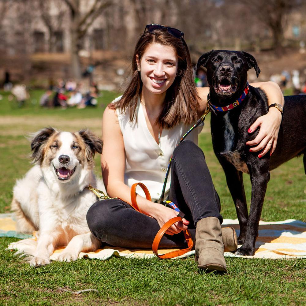 HUMAN + HOUND | Sarah Brasky of Foster Dogs NYC + Ozzie & Shaggy