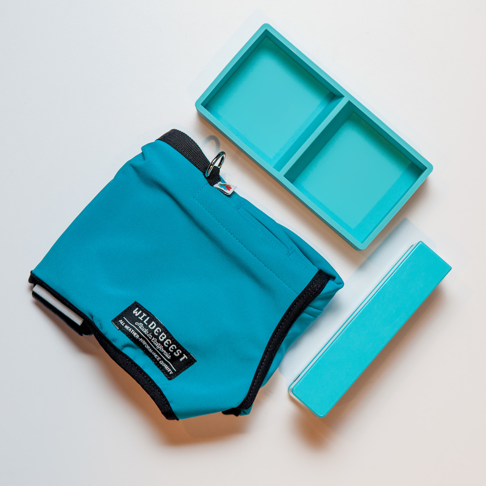 WILDEBEEST | All-Weather Jacket  +  POPPIN | Aqua Softie This & That Tray