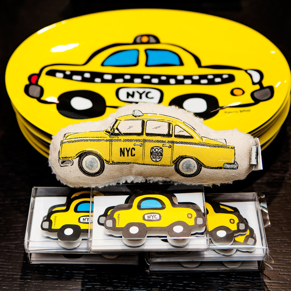 HARRY BARKER | Taxi Cab Toy (available in our NYC store!)