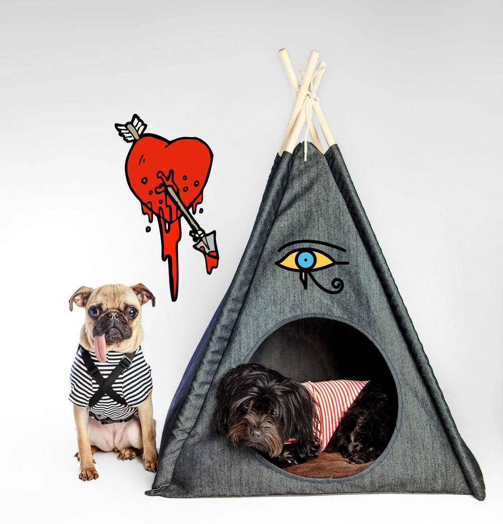 PET PLAY SF | TeePee + DOG & CO. | Perfect T