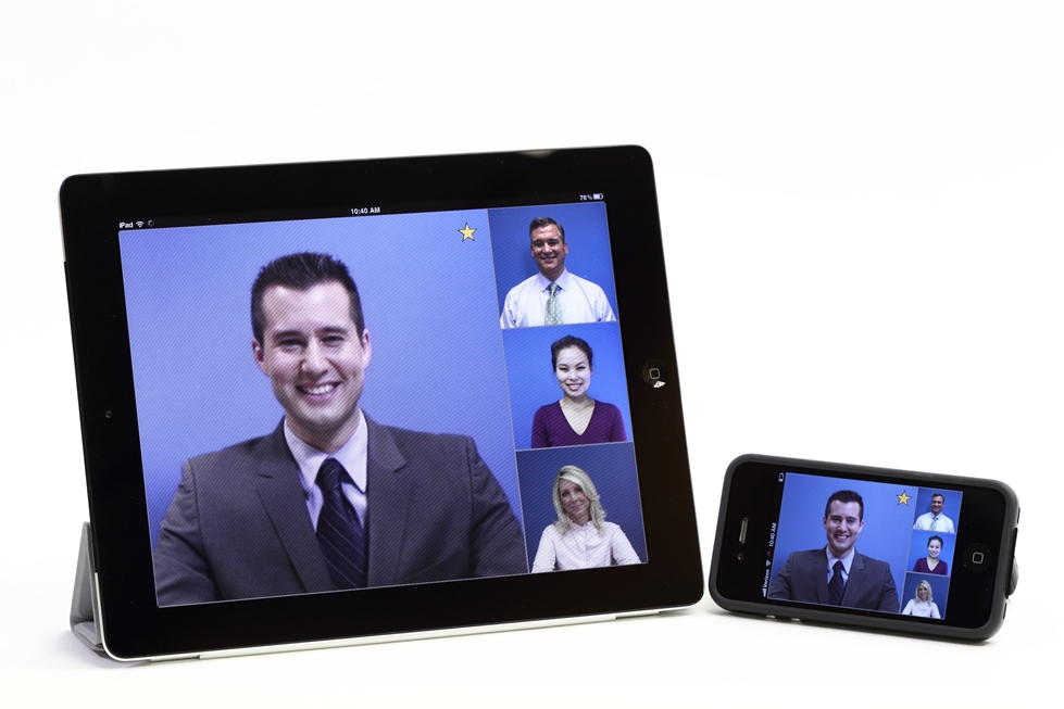 Scalable Telepresence meetings on your mobile.jpg