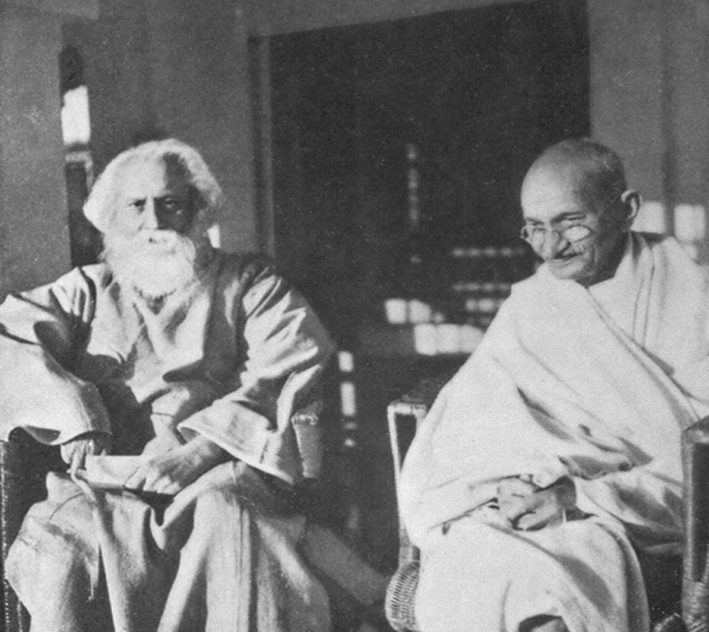 relationship between tagore and gandhi essay