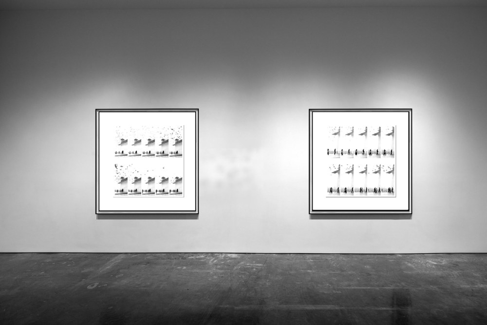 Impermanence I & II - 2011 - Screen print on paper - 150 x 150 cm