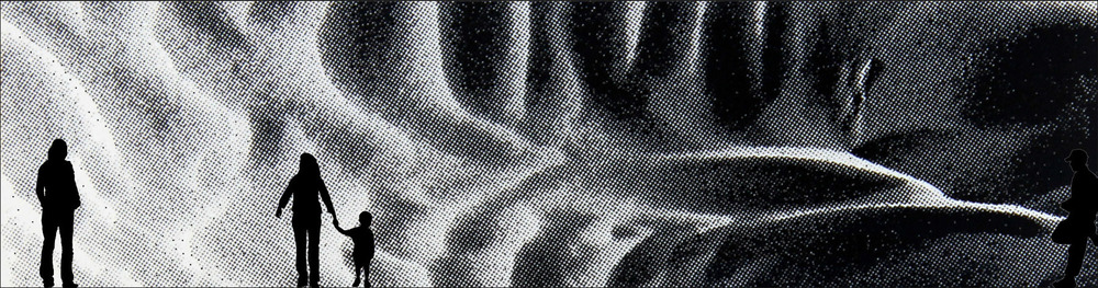 Fluidity - 2012 - Printed foil - 1200 x350 cm