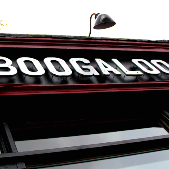 The Boogaloo, London, UK, November