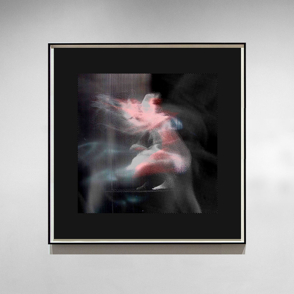 Aura I - 2014 - Screen print on paper - 30 x 30 cm - Edition of 01