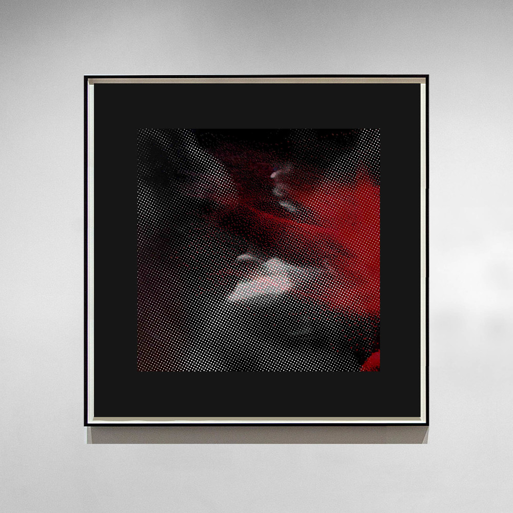 Aura III - 2014 - Screen print on paper - 30 x 30 cm - Edition of 01