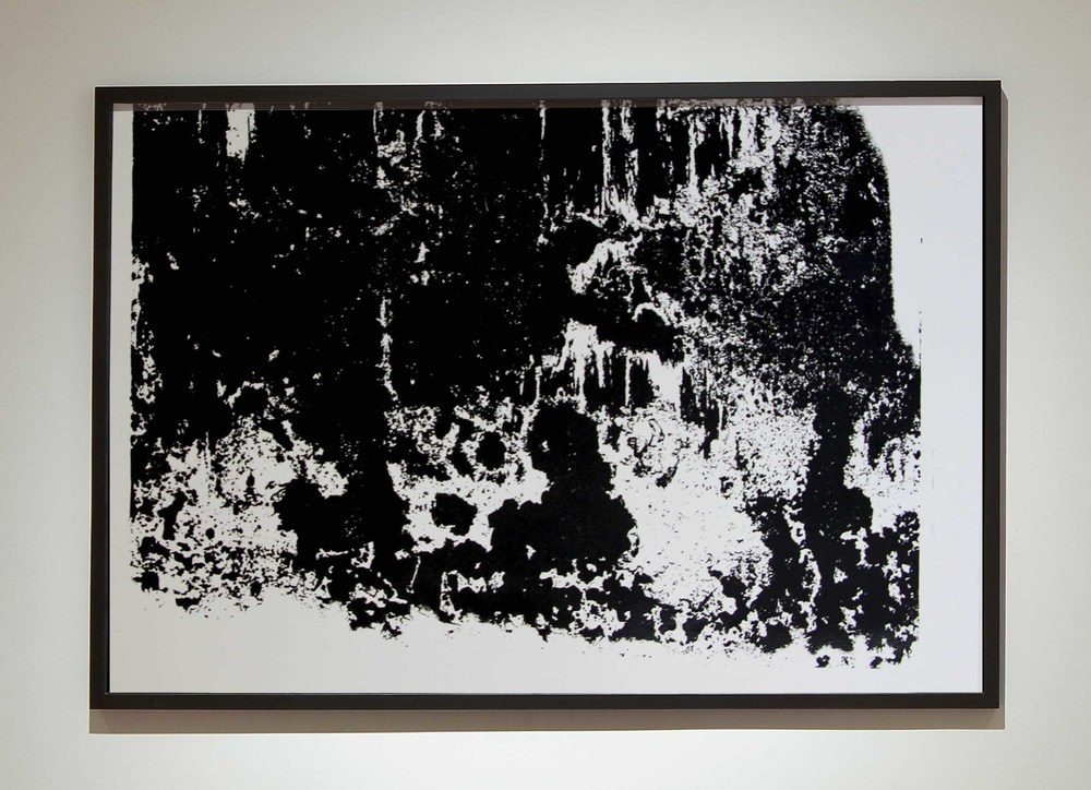 Matière I  - 2014 - Screen print on paper - 90 x 60 cm  - Edition of 01