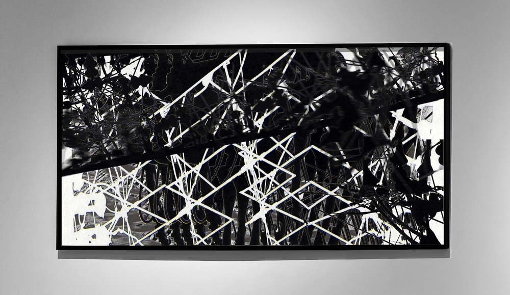 Connection II - 2011 - Screen print on paper - 120 x 80 cm - Edition of 01