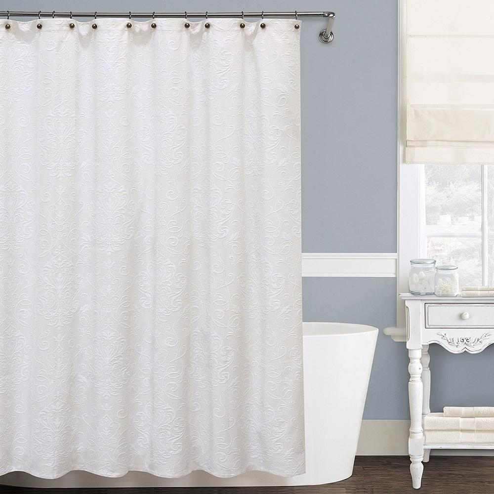 isabella shower curtain — lamont home