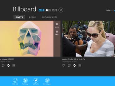 Intel's Billboard interface