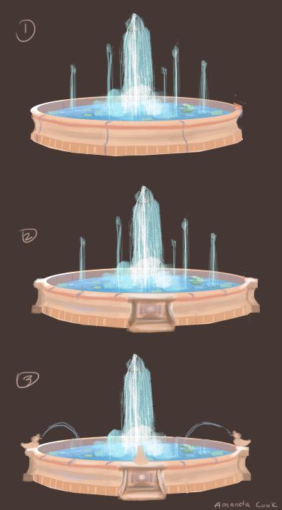 Fountain Concept Art