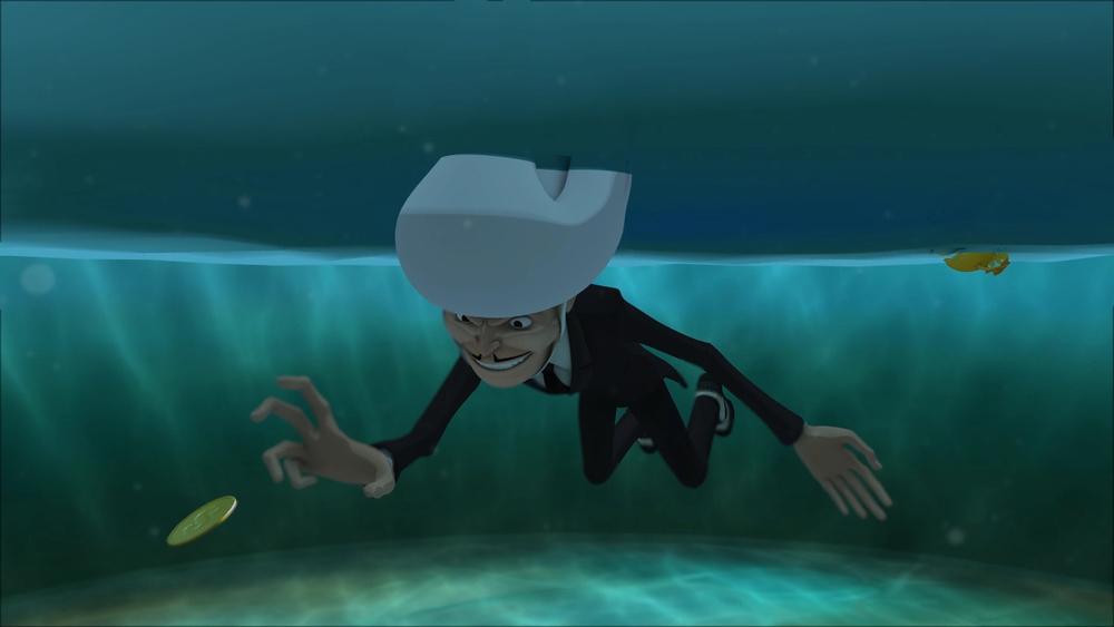 Underwater Surface Shader