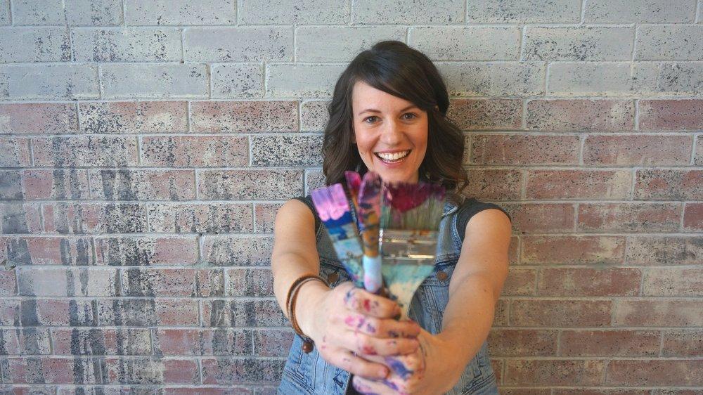 Krista Kankula Revel in the Mess Sparks and Splatter Creativity Workshop Wildflowers Farm.jpg