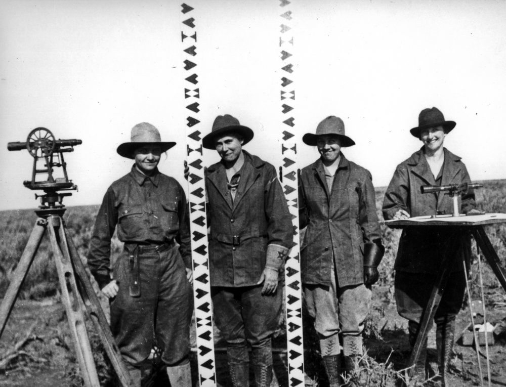 Minidoka Project, Idaho 1918, Photo from the U.S. Bureau of Reclamation, of the U.S. Department of the Interior
