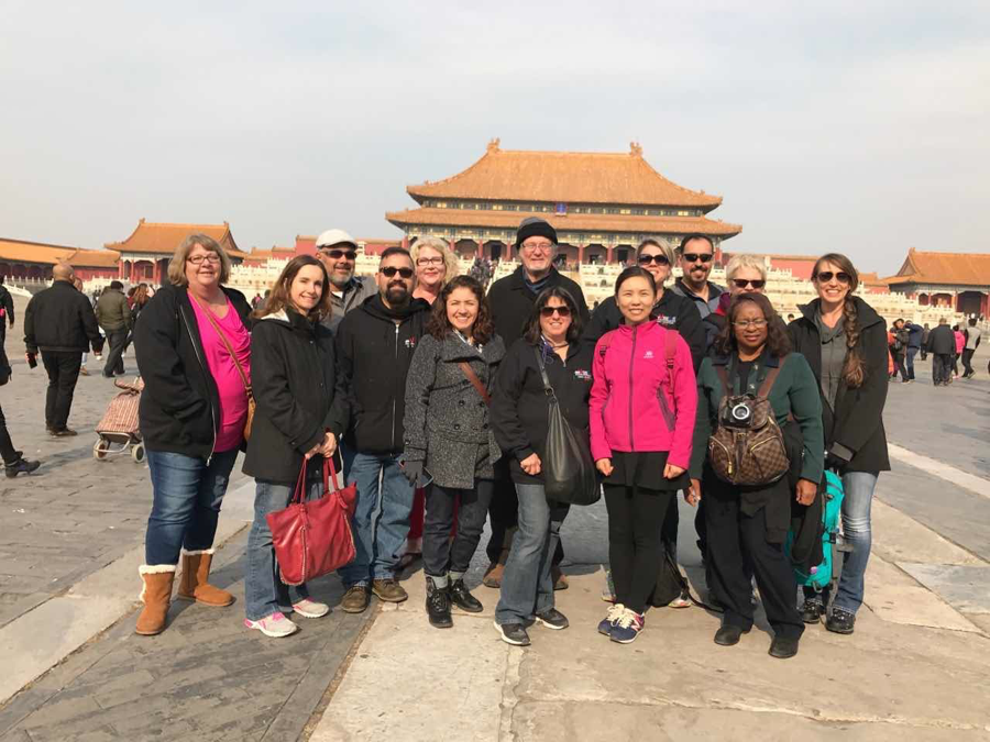 From left to right: Cindy Vance, Karen McGovern, Eric Gautier, Jonathan Livermore, Tracy Gautier, Margarita Chang, Colin Churchill, Rosemary Netzel, Anna Zhang, Mandy Osburn, Alfonso Alvarez, Tronie Rifkin, Detra Sims, Stacy Simpson