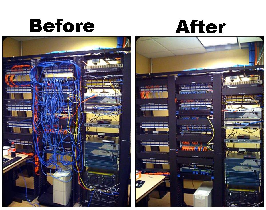 From a mess to manageable.  Call Kingdom Comm. 210.390.3700