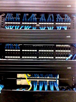 Proper wire management