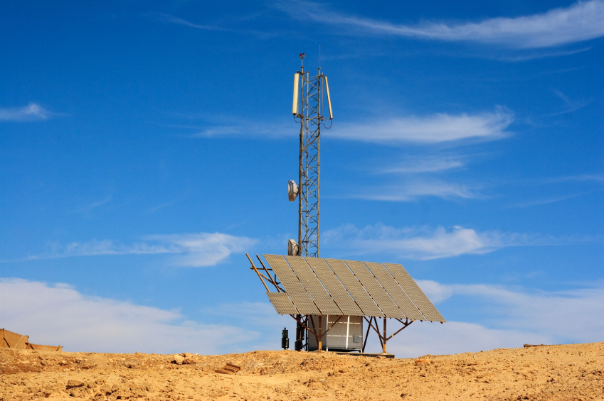 CELL towers provide the energy and the infrastructure needed to solve this challenging PROBLEM