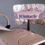 Windsurfer parabolic reflector