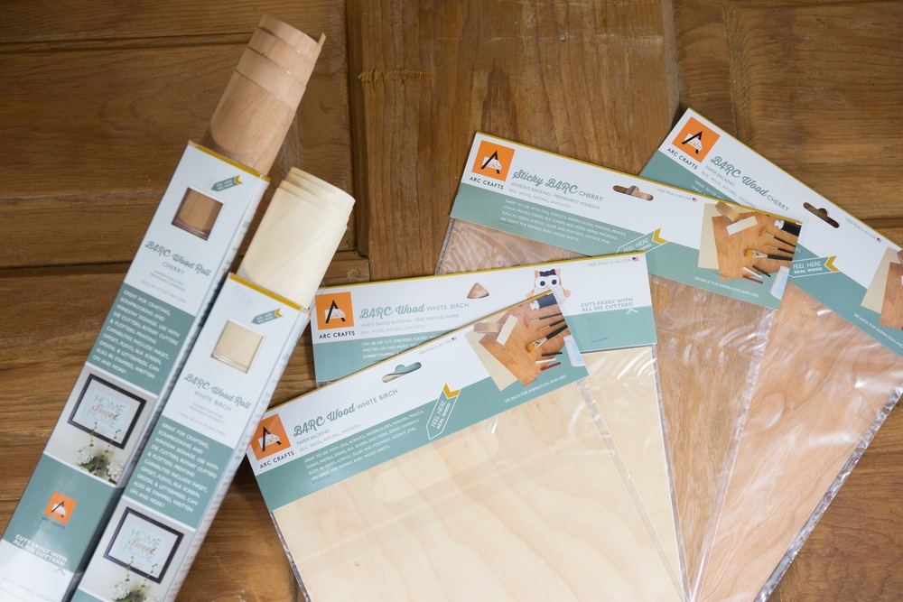 Cherry and Birch Wood ARC Crafts Retail Products