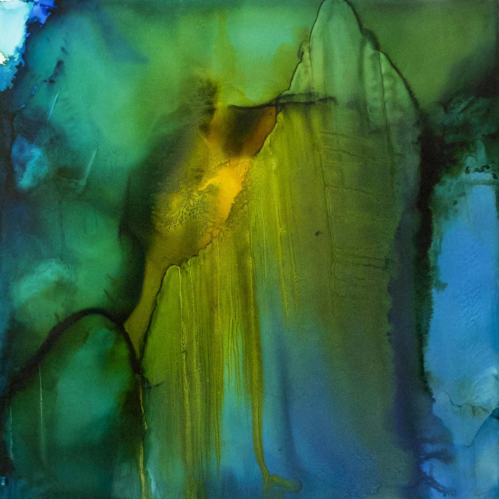 Habitat Series: Cavernous 48x48 #080416ia