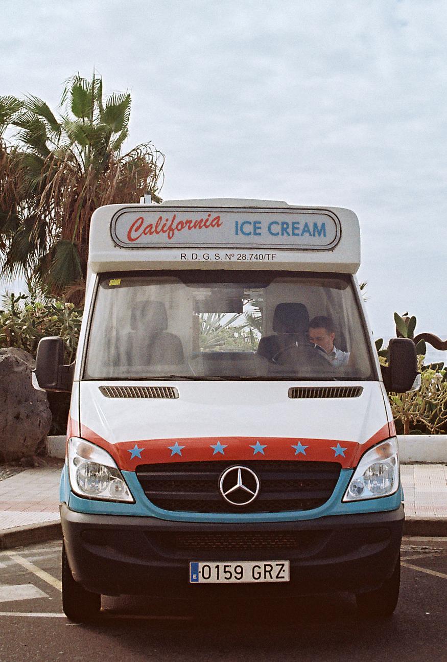 Tradicional carrito de los helados