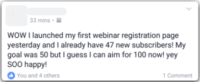 Get more email subscribers with webinars
