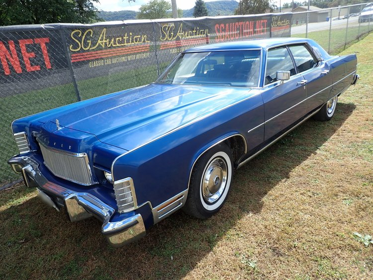 1974 Lincoln Continental Sg Auction