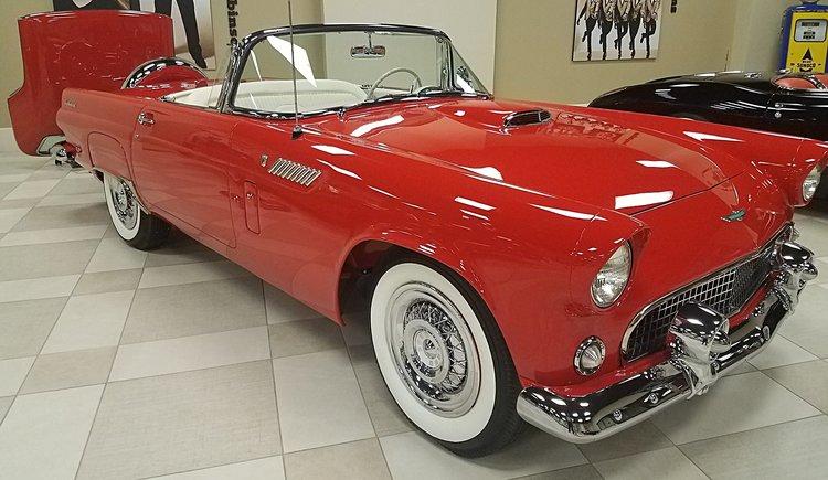 1956 Ford Thunderbird Sg Auction