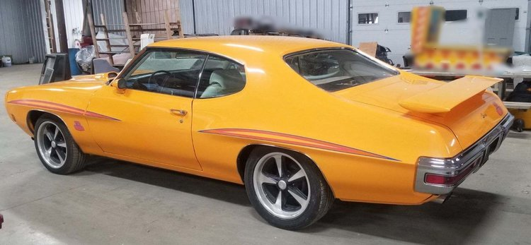 1970 pontiac gto judge resto mod sg auction
