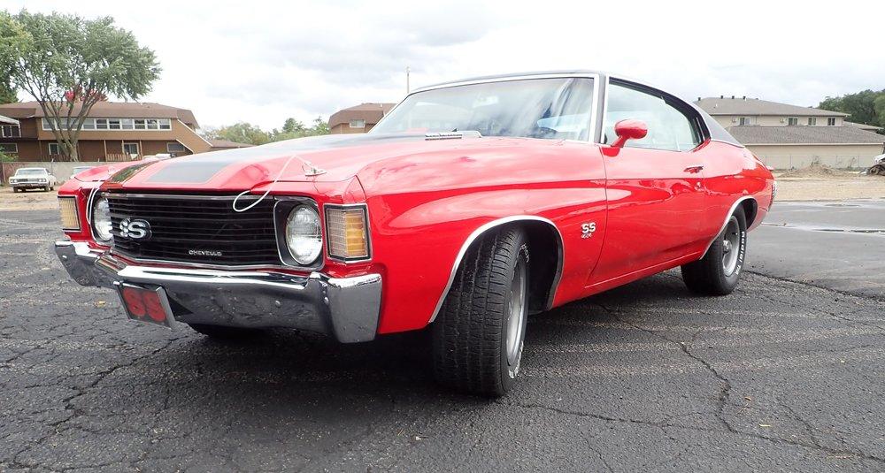 1972 Chevrolet Chevelle SS, 454
