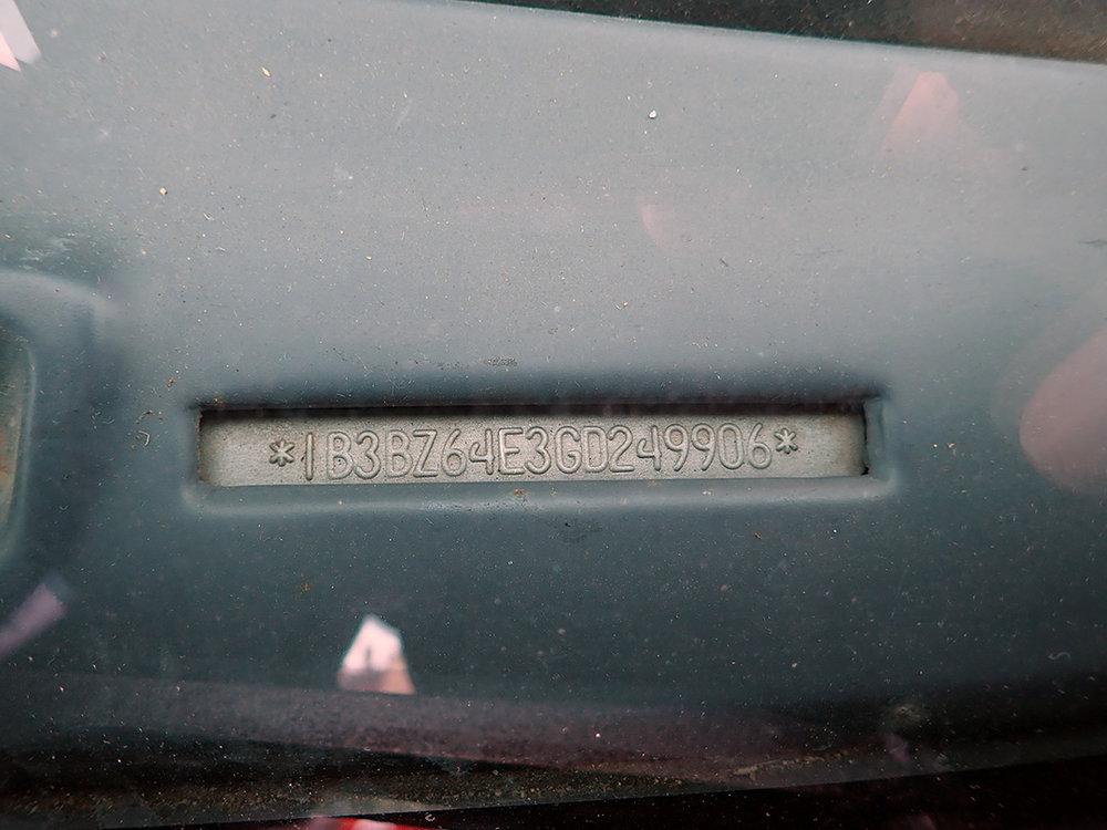 VIN 1986 Dodge Charger STPC.jpg