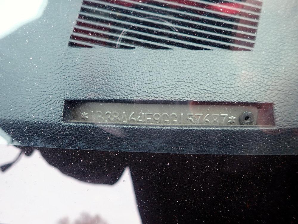 VIN 1986 Dodge Daytona STPC.jpg