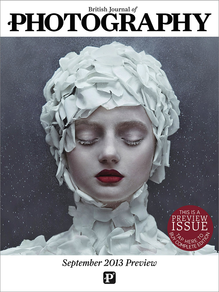 British Journal of Photography  ,  Digital Cover, September 2013