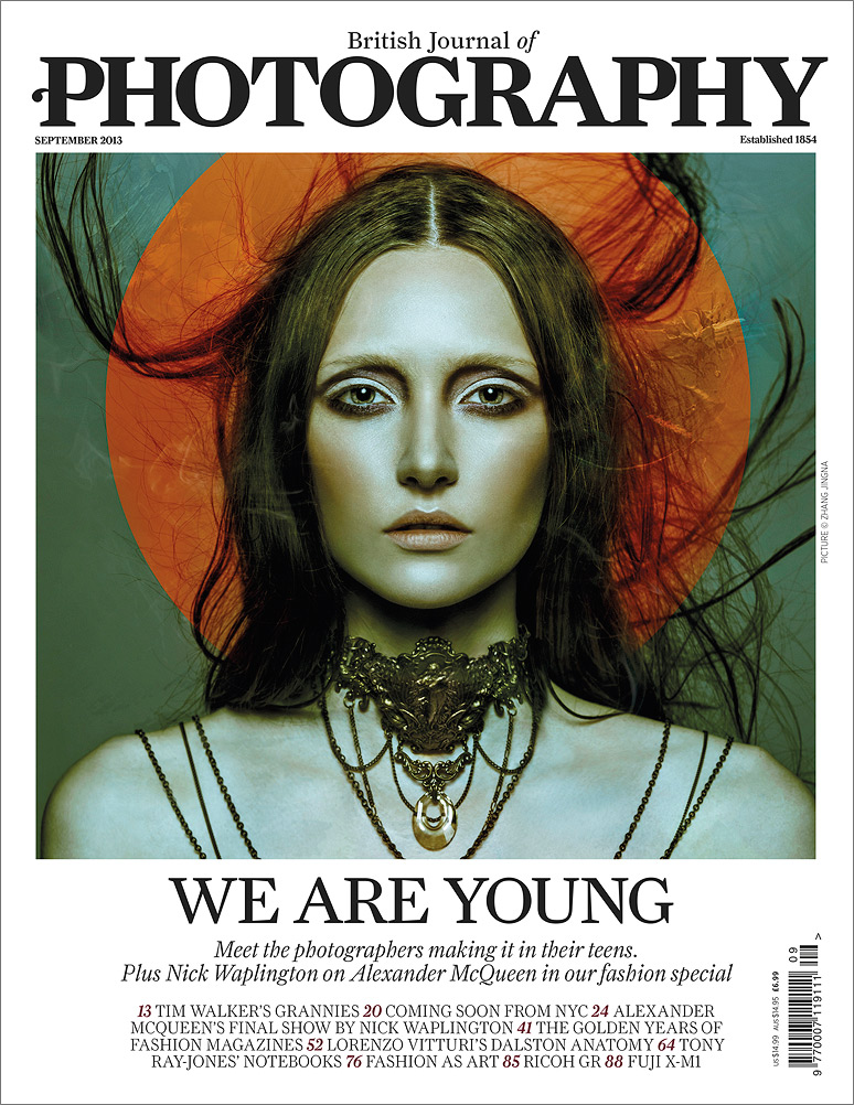 British Journal of Photography,  Cover & Feature, September 2013