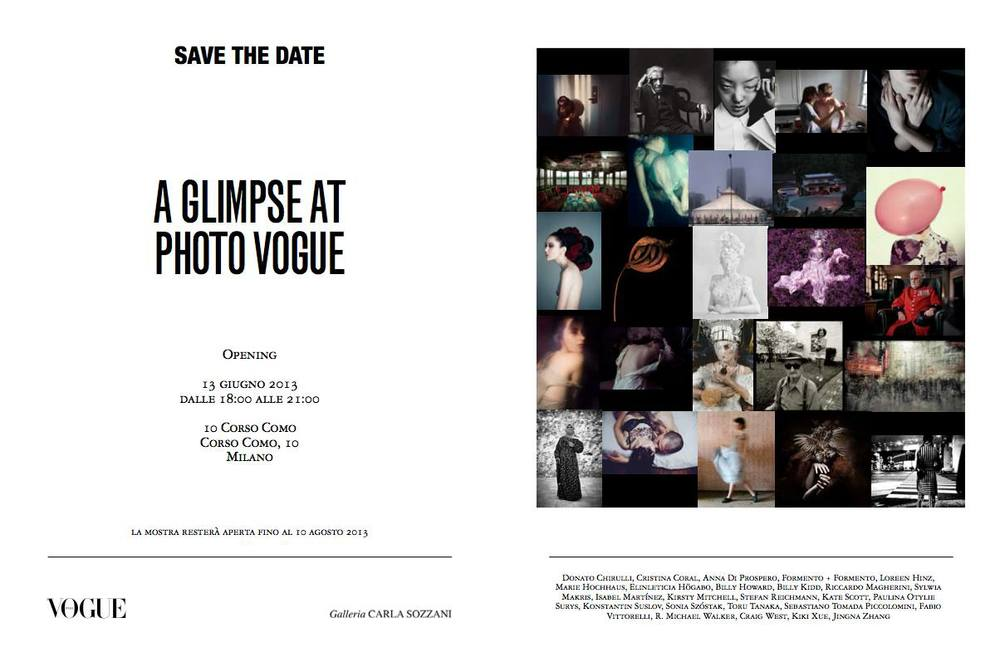 A Glimpse at Photo Vogue  Vogue Italia 10 Corso Como, Milan, 2013