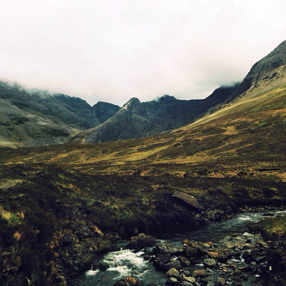 Trek to the Fairy Pools , Isle of Skye, Scotland, 2014