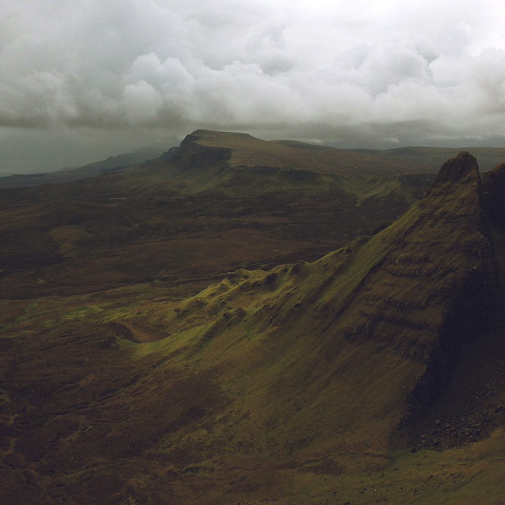 The Quiraing , Isle of Skye, Scotland, 2014