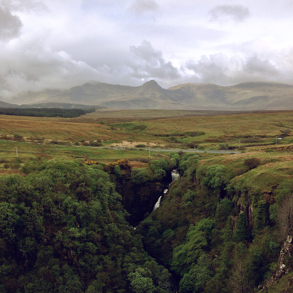 Lealt Falls , Isle of Skye, Scotland, 2014