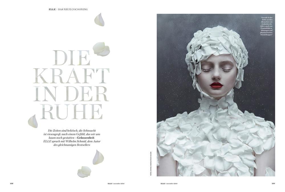 """""""Die Kraft in Der Ruhe"""",  Elle Germany , November 2014"""