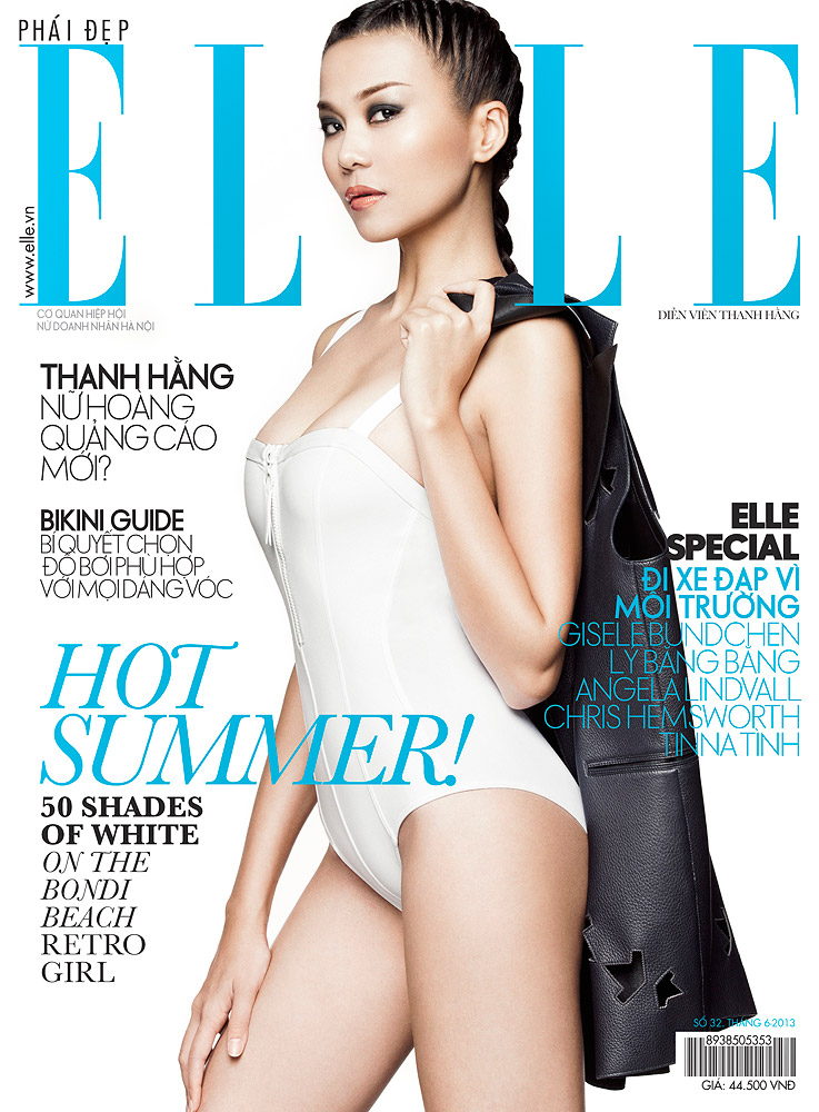 Elle Vietnam  , June 2013 Thanh Hang