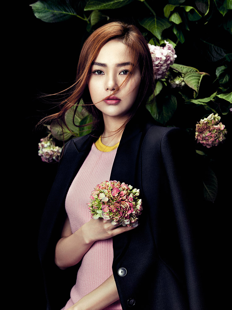 Minh Hang   Elle Vietnam , February 2015