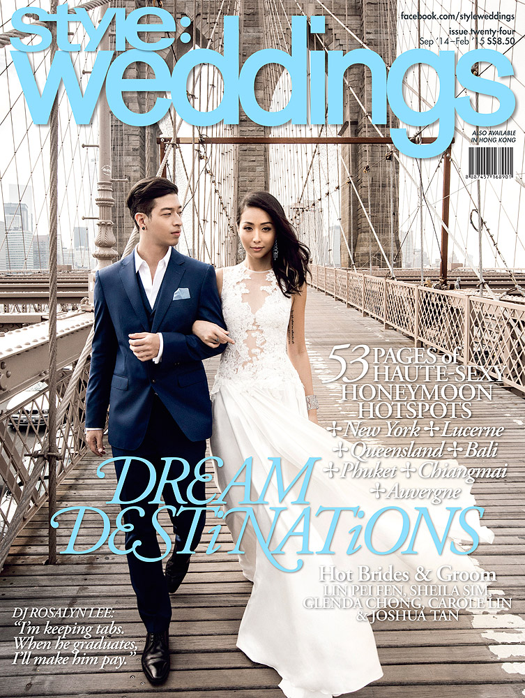 Style Weddings  , September 2014 Rosalyn Lee & Justin Vanderstraaten