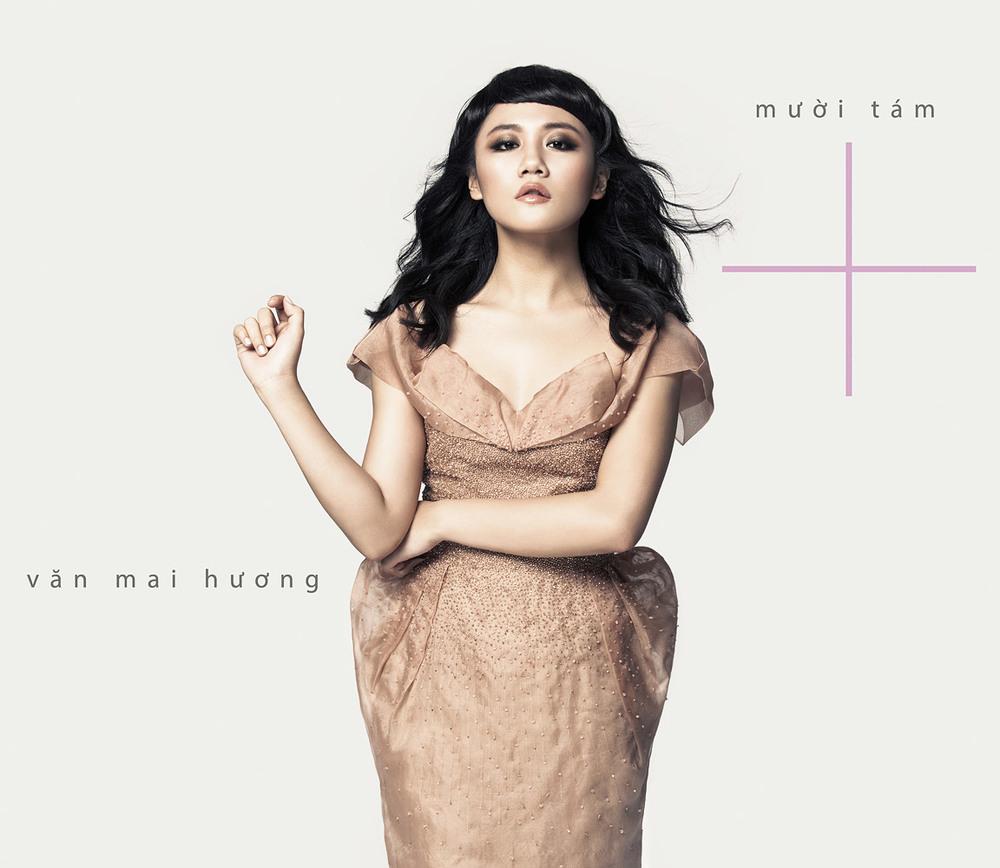 """Van Mai Huong  """" Muoi Tam+ """" Album Cover"""